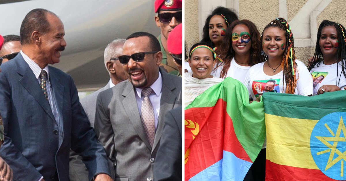 Eritrean leader visits Ethiopia as dramatic thaw continues