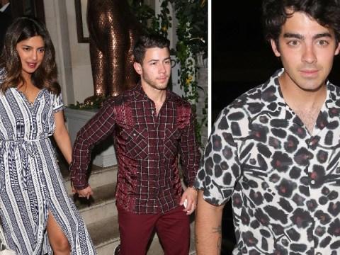 Priyanka Chopra flies into London to celebrate birthday with Jonas Brothers and Sophie Turner