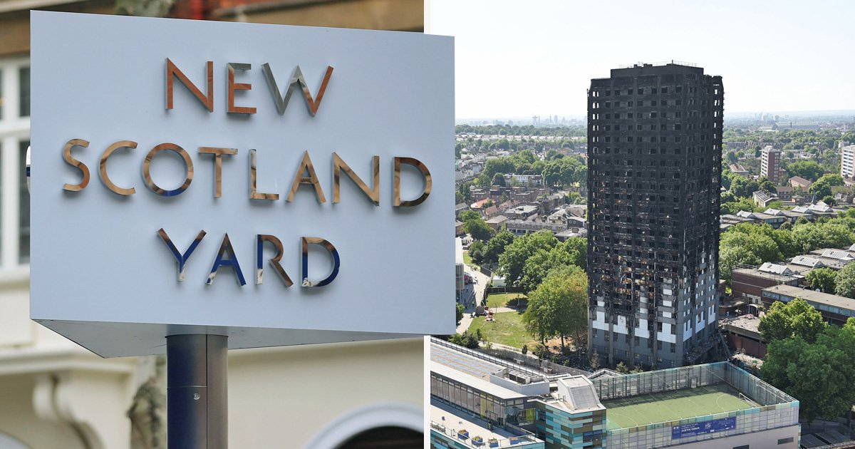 Three interviewed under caution over Grenfell Tower fire