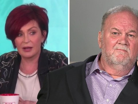 Meghan Markle's dad 'furious' at Sharon Osbourne for claiming he has a drinking problem