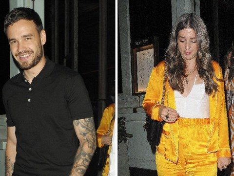 Liam Payne can't stop smiling as he leaves restaurant with female friends weeks after Cheryl split