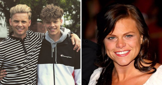 Bobby Brazier is the image of mum Jade Goody