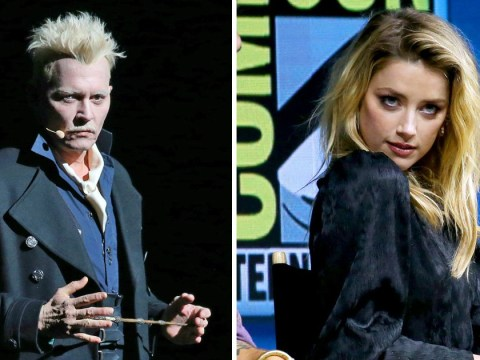 Johnny Depp makes surprise appearance at same Comic-Con panel as Amber Heard and fans aren't happy