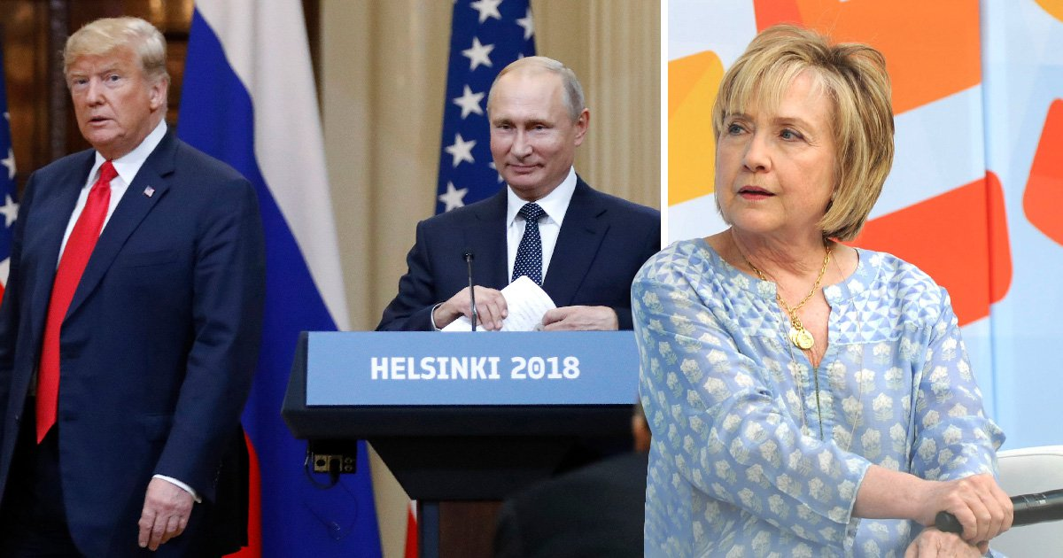 Hillary Clinton hints that Vladimir Putin played Donald Trump at crunch summit