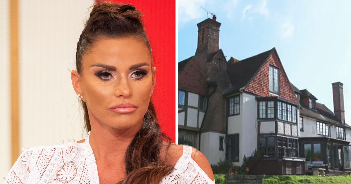 Katie Price's £1.5 million mansion isn't for sale after fire damage, but it won't sort her money woes