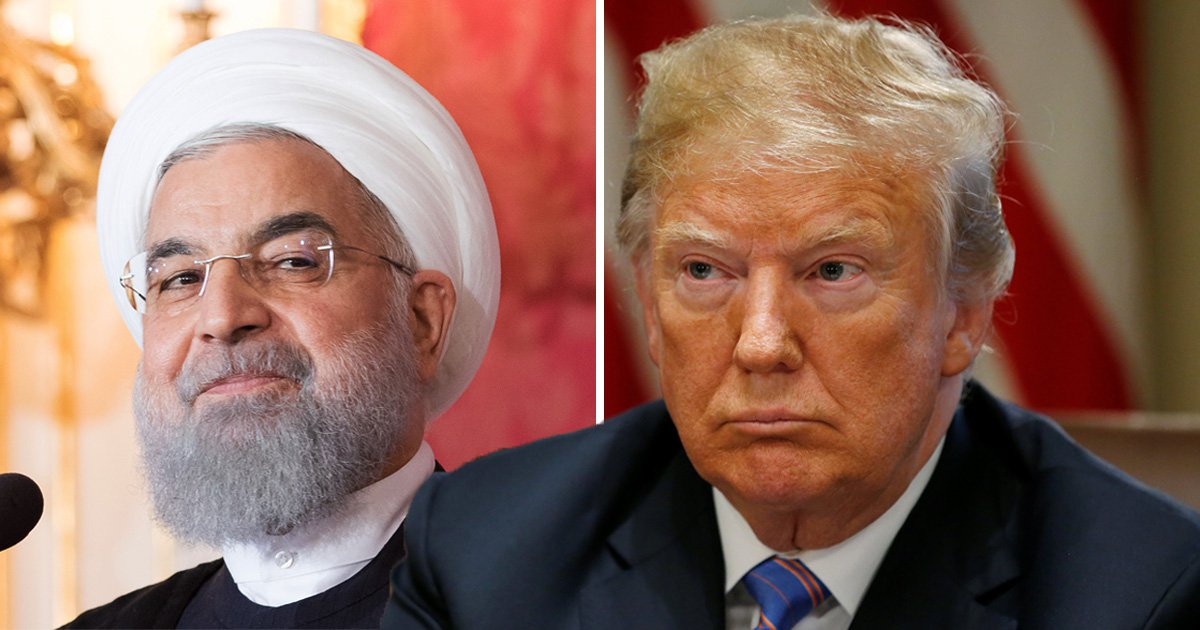 Trump tells Iran they will 'SUFFER CONSEQUENCES' in very angry tweet