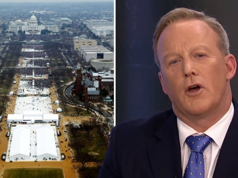 Sean Spicer finally admits he 'got it wrong' over size of Trump's inauguration crowd