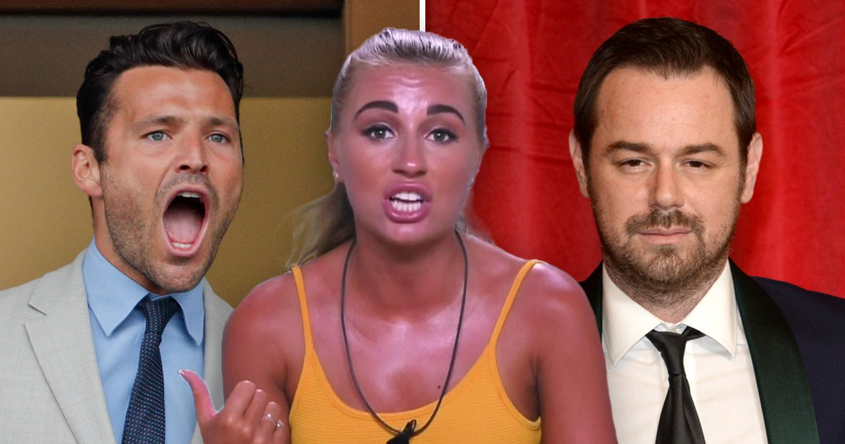 Remember when Love Island's loveable Dani Dyer called Mark Wright's friends 'c***s'?