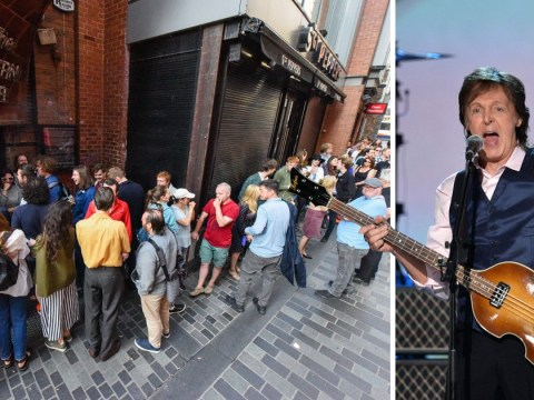 Sir Paul McCartney returns home to Liverpool's iconic The Cavern Club, credited as the birthplace of The Beatles