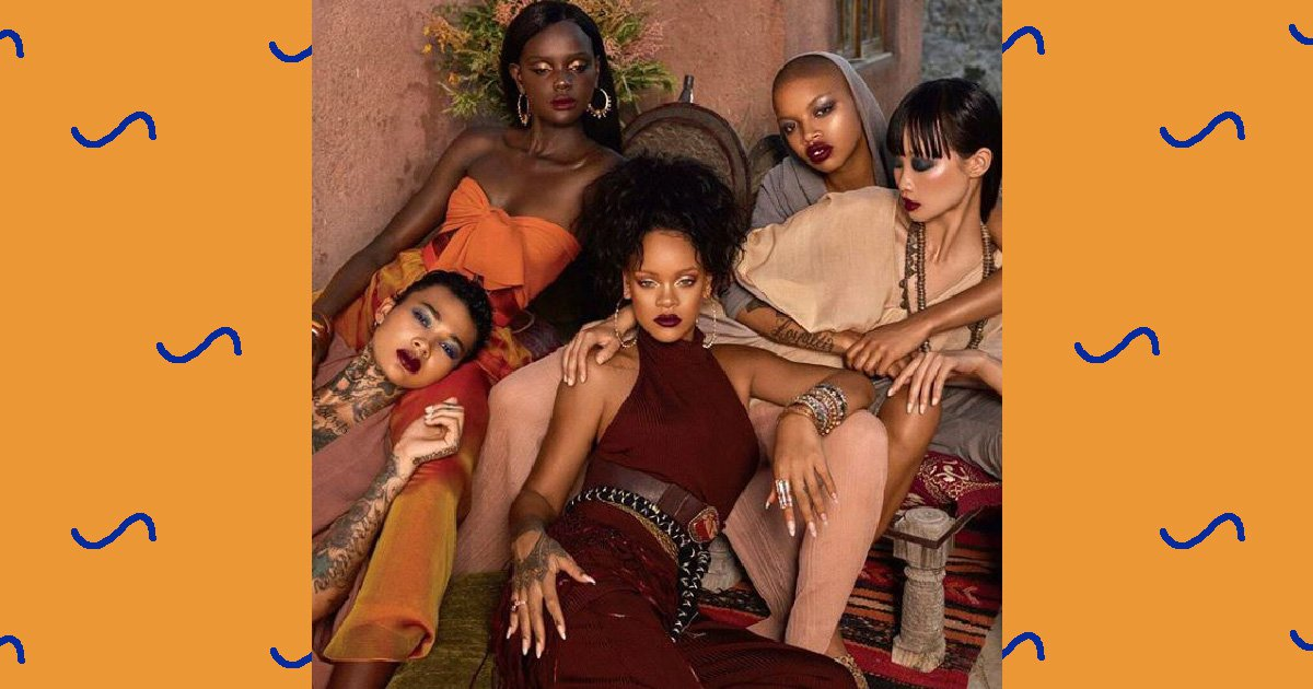 Fenty Beauty criticised for not using models from Morocco for Moroccan Spice line