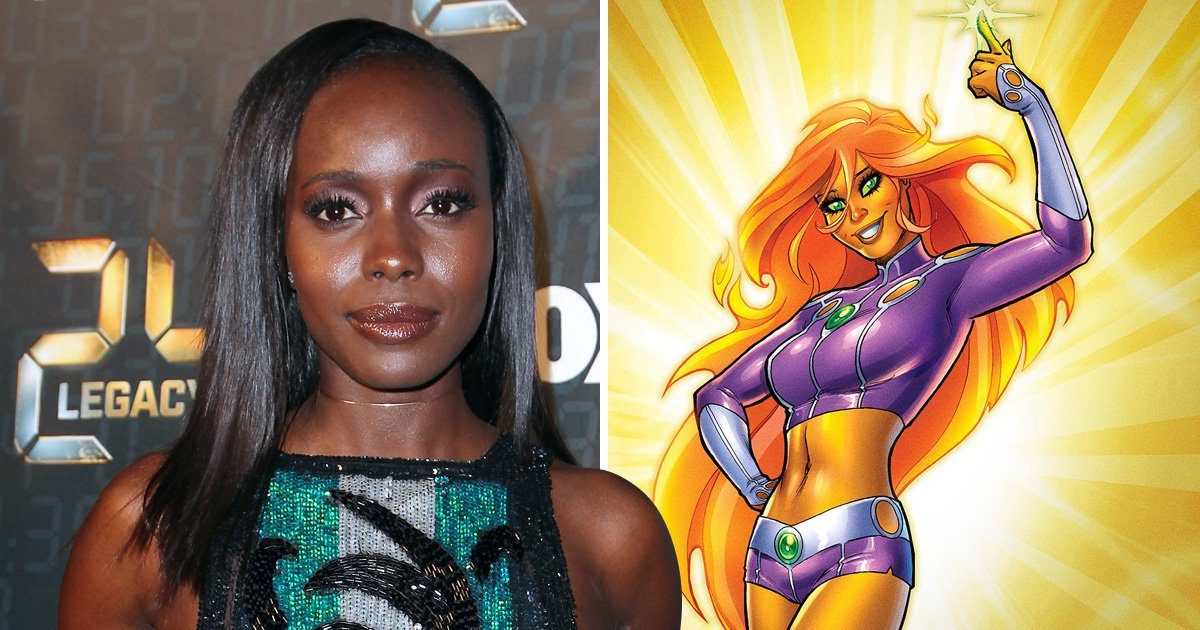 Anna Diop disables Instagram comments as racist trolls claim actor is 'too dark' to play orange alien