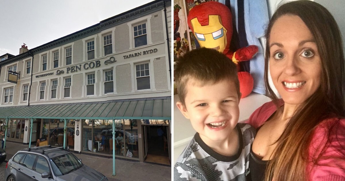 Mum in tears as man tells her to leave pub 'because autistic son was being loud'