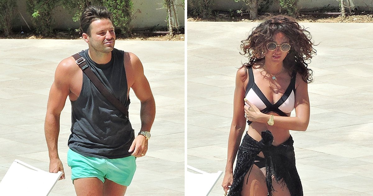 Michelle Keegan and Mark Wright find break in busy schedule to soak up the sun on romantic getaway