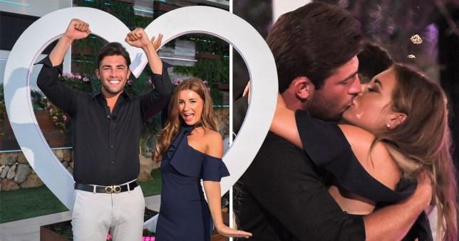 Jack and Dani win Love Island