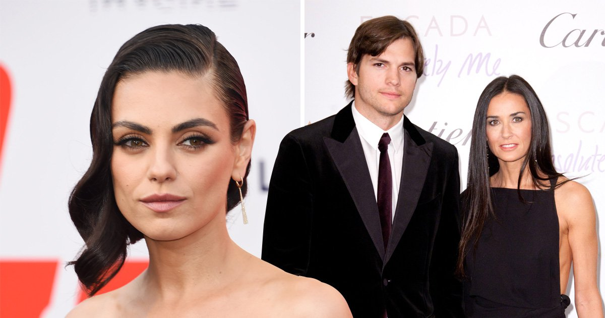 Ashton Kutcher and Demi Moore's marriage was 'normal and real', claims his wife Mila Kunis