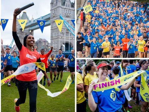 World's longest relay race record smashed by ex-gang members and the homeless