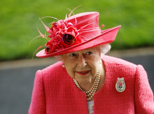 Horse Racing - Royal Ascot - Ascot Racecourse, Ascot, Britain - June 21, 2018 Britain's Queen Elizabeth after the Gold Cup REUTERS/Peter Nicholls