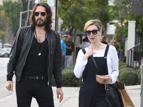 Russell Brand's wife Laura Gallacher gives birth to baby girl