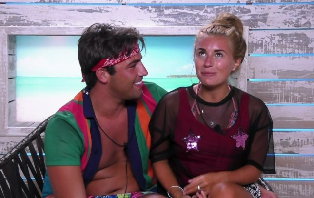 Islanders take part in a series of challenges for a game of 'Love Fest' on 'Love Island'. Broadcast on ITV2 Featuring: Dani Dyer, Jack Fincham When: 24 Jun 2018 Credit: Supplied by WENN **WENN does not claim any ownership including but not limited to Copyright, License in attached material. Fees charged by WENN are for WENN's services only, do not, nor are they intended to, convey to the user any ownership of Copyright, License in material. By publishing this material you expressly agree to indemnify, to hold WENN, its directors, shareholders, employees harmless from any loss, claims, damages, demands, expenses (including legal fees), any causes of action, allegation against WENN arising out of, connected in any way with publication of the material.**