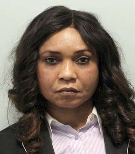 Undated handout photo issued by the National Crime Agency of Josephine Iyamu, a London-based nurse who has been found guilty of trafficking five Nigerian women to Germany to work as prostitutes - after forcing them to undergo humiliating voodoo rituals. PRESS ASSOCIATION Photo. Issue date: Thursday June 28, 2018. Iyamu made her victims perform juju ceremonies where they were forced to eat chicken hearts, drink blood containing worms, and endure powder being rubbed into cuts. See PA story COURTS Nurse. Photo credit should read: National Crime Agency/PA Wire NOTE TO EDITORS: This handout photo may only be used in for editorial reporting purposes for the contemporaneous illustration of events, things or the people in the image or facts mentioned in the caption. Reuse of the picture may require further permission from the copyright holder.