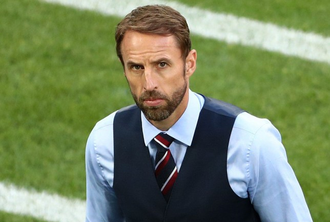 England manager Gareth Southgate before the FIFA World Cup Group G match at Kaliningrad Stadium. PRESS ASSOCIATION Photo. Picture date: Thursday June 28, 2018. See PA story WORLDCUP England. Photo credit should read: Tim Goode/PA Wire. RESTRICTIONS: Editorial use only. No commercial use. No use with any unofficial 3rd party logos. No manipulation of images. No video emulation