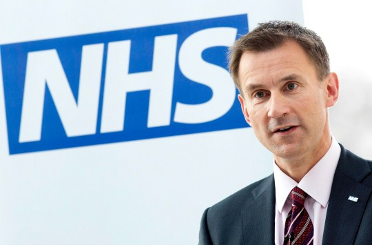"""File photo dated 05/07/13 of Health Secretary Jeremy Hunt who has announced the launch of an app that will mark the """"death knell"""" of the early morning scramble to secure a GP appointment. PRESS ASSOCIATION Photo. Issue date: Monday July 2, 2018. Patients will be able to look at their records, order repeat prescriptions and access 111 online for urgent medical queries. The app will also allow patients to address longer-term concerns such as setting out their end of life care and organ donation preferences. See PA story HEALTH NHS70. Photo credit should read: Neil Hall/PA Wire"""