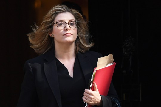 epa06860201 British Secretary of State for International Development Penny Mordaunt departs Downing Street following a cabinet meeting in London, Britain, 03 July 2018. EPA/ANDY RAIN