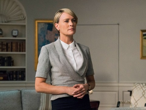 House of Cards' Robin Wright distances herself from Kevin Spacey after sexual assault claims: 'I didn't know the man'