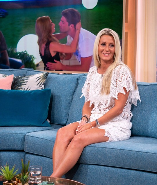 EDITORIAL USE ONLY. NO MERCHANDISING Mandatory Credit: Photo by S Meddle/ITV/REX/Shutterstock (9735799k) Jo Mas 'This Morning' TV show, London, UK - 05 Jul 2018 LOVE ISLAND: DANI DYER?S MUM JO MAS DYER We?re only four weeks into Love Island, and Jack and Dani are already this year?s couple to beat. And after a valiant return back to the villa from Casa Amor - is looks like Dani and Jack?s love story is set to continue. But just how has Dani?s family felt looking in from the outside? Dani?s mum, Jo will be joining us on the sofa to talk all things Love Island. Plus, why her and husband Danny could be coming face to face with the Islanders sooner than we think!