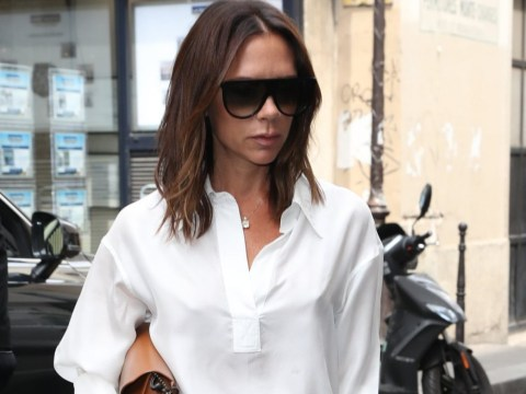 Victoria Beckham ditches husband David during anniversary celebrations for solo outing in Paris
