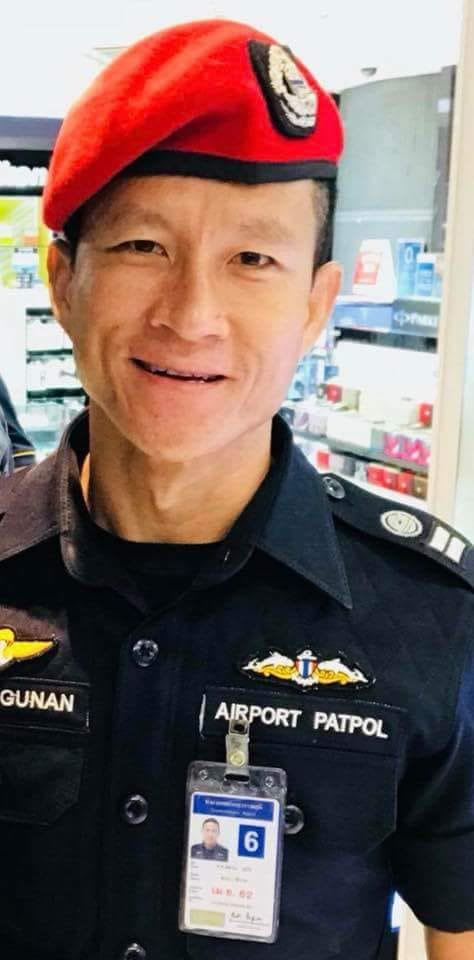 Twelve Thai boys and their football coach have been trapped in the flooded cave for 12 days. Thai Navy Seal Samarn Kunan, 38, died due to lack of oxygen in the tunnel during rescue efforts. He was placing oxygen tanks around the cave at 1am Friday when he suffocated. Kunan's death comes as officials fear monsoonal rain could flood the cave and trap the team inside for months.