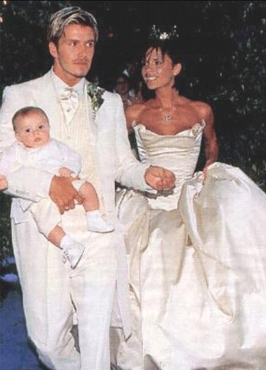 When Was David And Victoria Beckham S Wedding And What Did They Wear