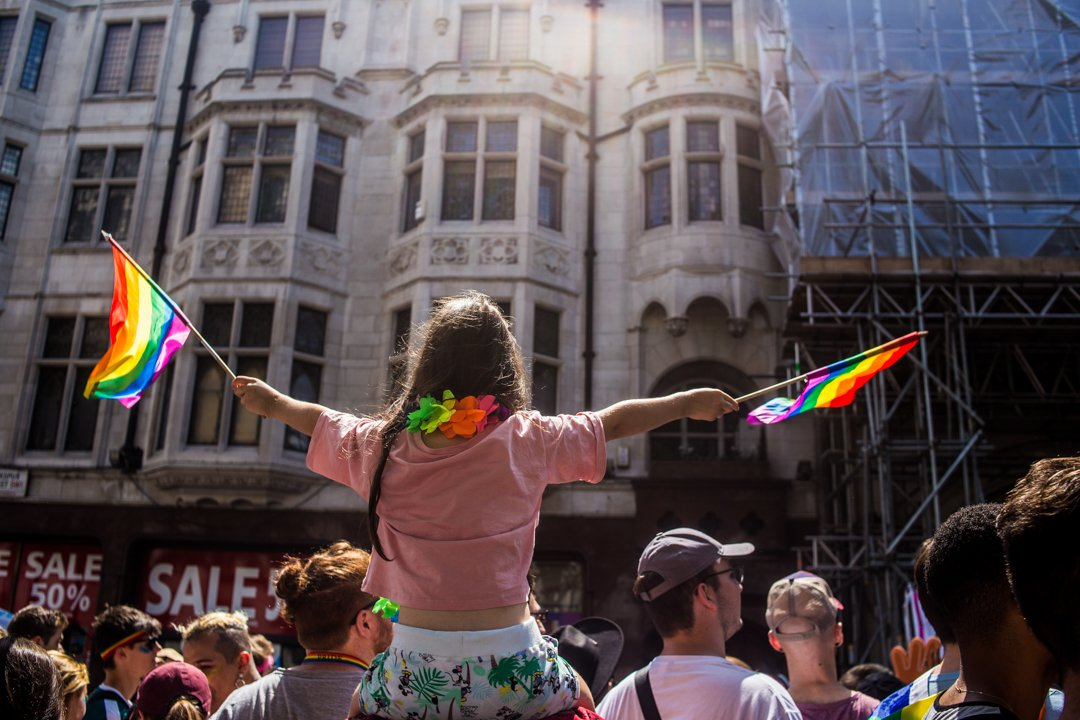 As a cisgender lesbian at Pride, I was ashamed to see such blatant transphobia within my own community