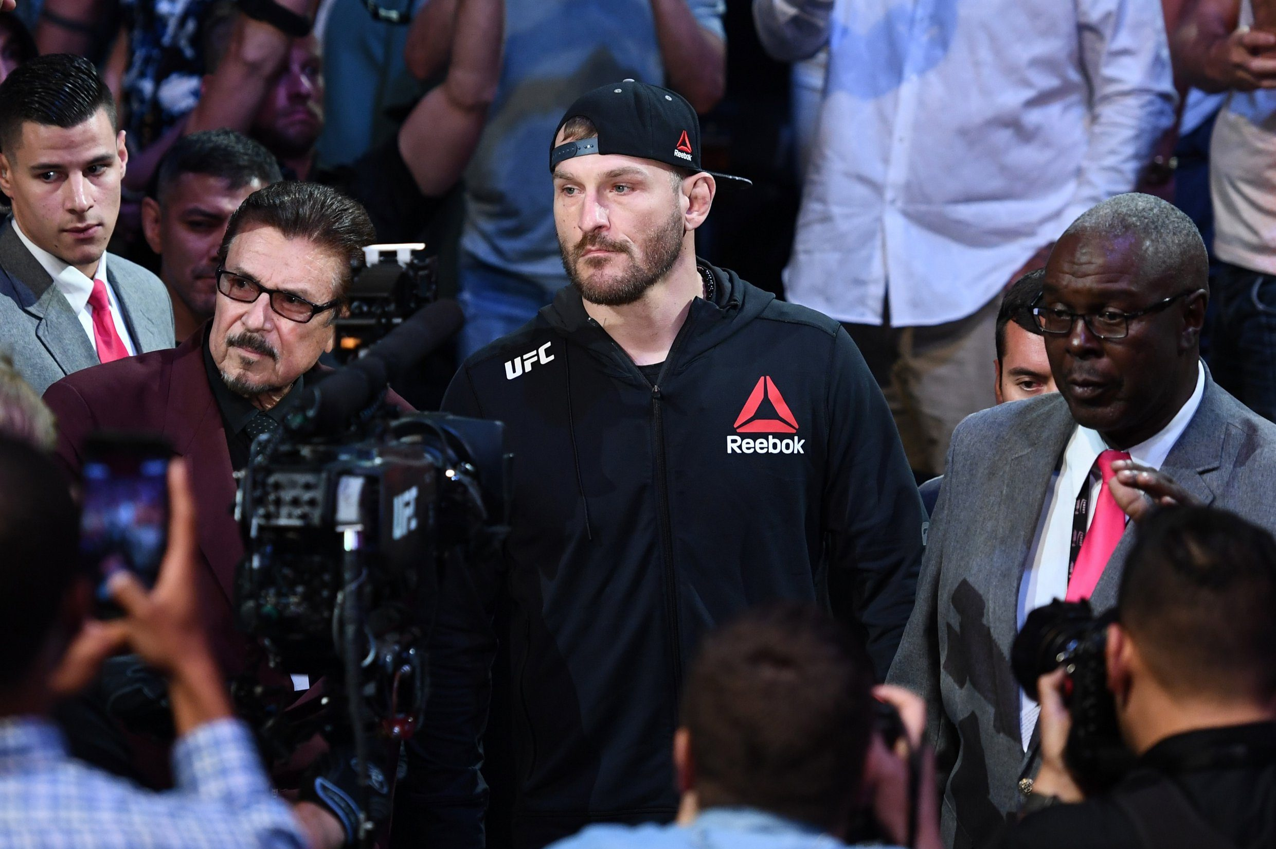 Stipe Miocic slams Daniel Cormier vs Brock Lesnar: A s*** show