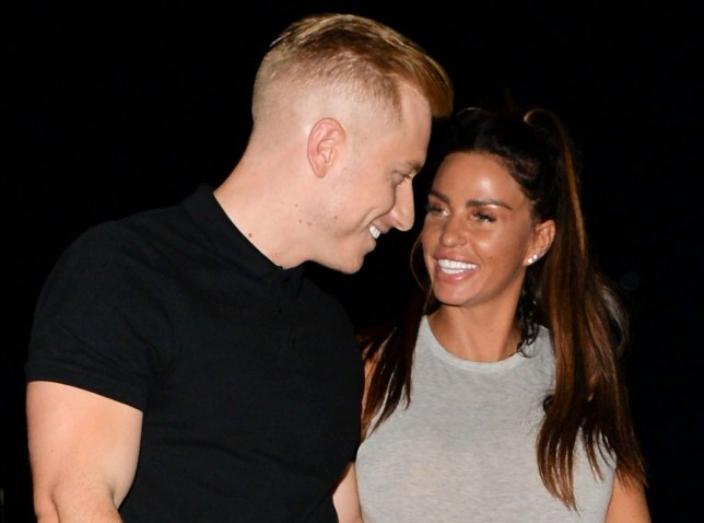 Mandatory Credit: Photo by Palace Lee/REX/Shutterstock (9745035g) Kris Boyson and Katie Price Katie Price and Kris Boyson out and about, Brighton, UK - 07 Jul 2018 Katie Price and Kris Boyson at Shoosh night club