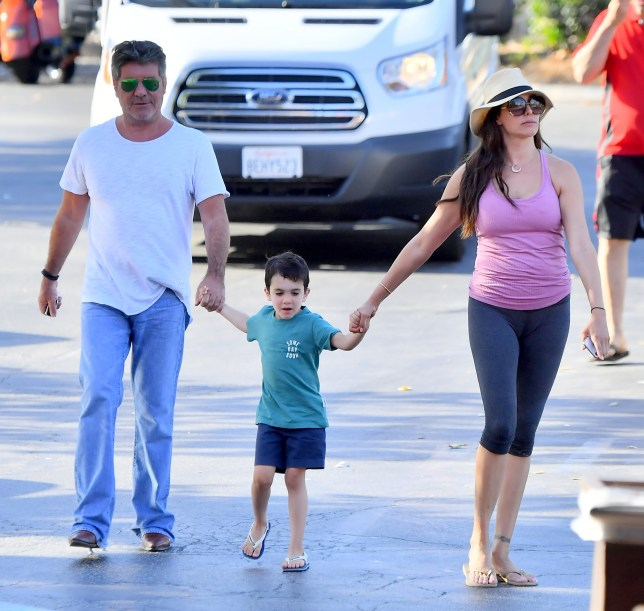 EXCLUSIVE: *NO WEB UNTIL 8PM BST 8TH JULY* Simon Cowell and his wife Lauren Silverman take their son on a playdate with Terri Seymore and her daughter Coco. Simon's wife didn't seem to mind spending time with Simon's ex Terri, as they all hung out in Malibu having some ice cream before doing a bit of grocery shopping. 01 Jul 2018 Pictured: Simon Cowell, Lauren Silverman, Terri Seymore, Coco Seymore and Eric Cowell. Photo credit: Marksman / MEGA TheMegaAgency.com +1 888 505 6342
