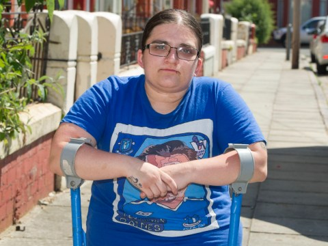 Woman who can't walk without crutches told she isn't eligible for disability benefit