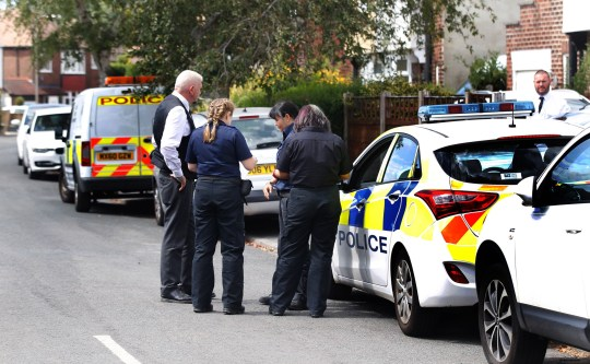 Police Incident at Frances Avenue Gatley.