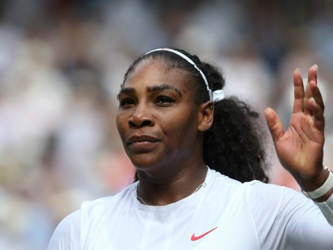 Serena Williams thanks fans for support after admitting to tears when she missed daughter's first steps