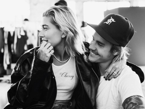 Hailey Baldwin has love 'pouring out of her soul' for Justin Bieber as she claims 'they're not married yet'