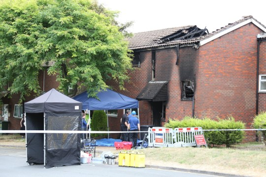 FATAL HOUSE FIRE EASTBOURNE - BELIEVED ARSON - NOW MURDER - BARRY KEEVINS HAS WORDS 07515 382 675
