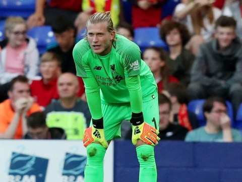 Loris Karius makes another AWFUL error during Liverpool friendly