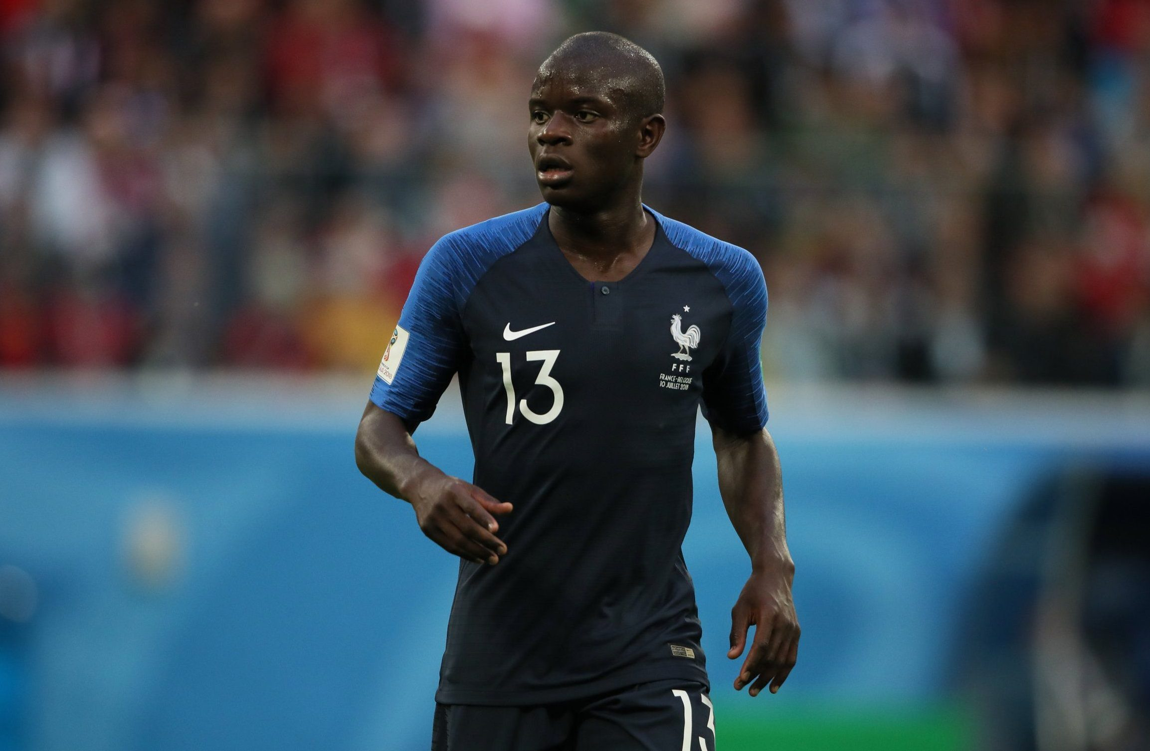 Arsene Wenger hails N'Golo Kante after France beat Belgium to reach World Cup final
