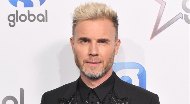 Gary Barlow - The Global Awards, Press Room, Eventim Apollo, London, UK - 01 Mar 2018 Mandatory Credit: Photo by James Gourley/REX/Shutterstock (9446051b)
