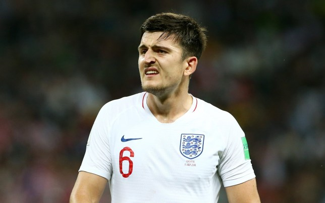 Mandatory Credit: Photo by Pixathlon/REX/Shutterstock (9760332s) Harry Maguire / / Portrait / FIFA World Championships World Cup Russia Russia 2018 semi final 1/2 Finale / 2017/2018 / 11.07.2018 / Croatia CRO vs. England ENG 1807110 / Football: Russia 2018, World Cup, Moskau - 11 Jul 2018