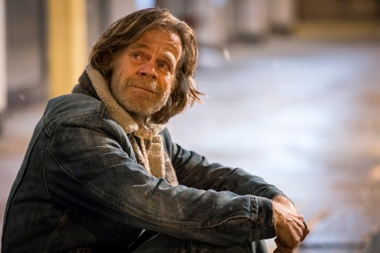 """This image released by Showtime shows William H. Macy in a scene from """"Shameless."""" Macy was nominated Thursday for an Emmy for outstanding lead actor in a comedy series for his role. The 70th Emmy Awards will be held on Monday, Sept. 17. (Chuck Hodes/Showtime via AP)"""