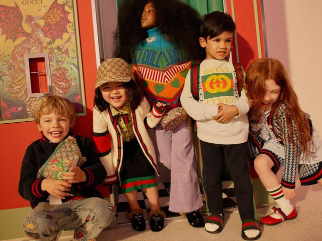 Picture: Net-A-Porter Net-A-Porter is teaming up with Gucci for a new childrenswear range