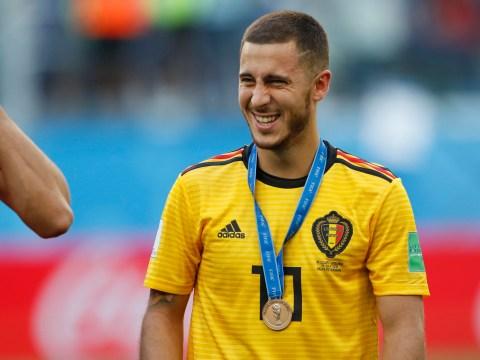 Eden Hazard names himself World Cup Golden Ball winner