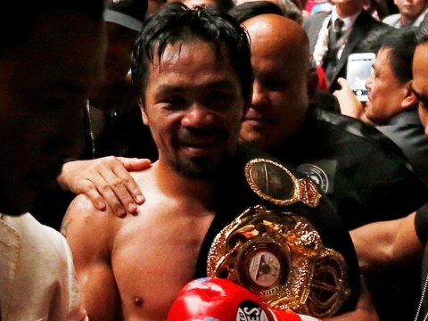 Manny Pacquiao open to Amir Khan clash and Floyd Mayweather rematch