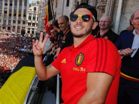 Chelsea forward Cesc Fabregas pleading with Eden Hazard to snub Real Madrid transfer